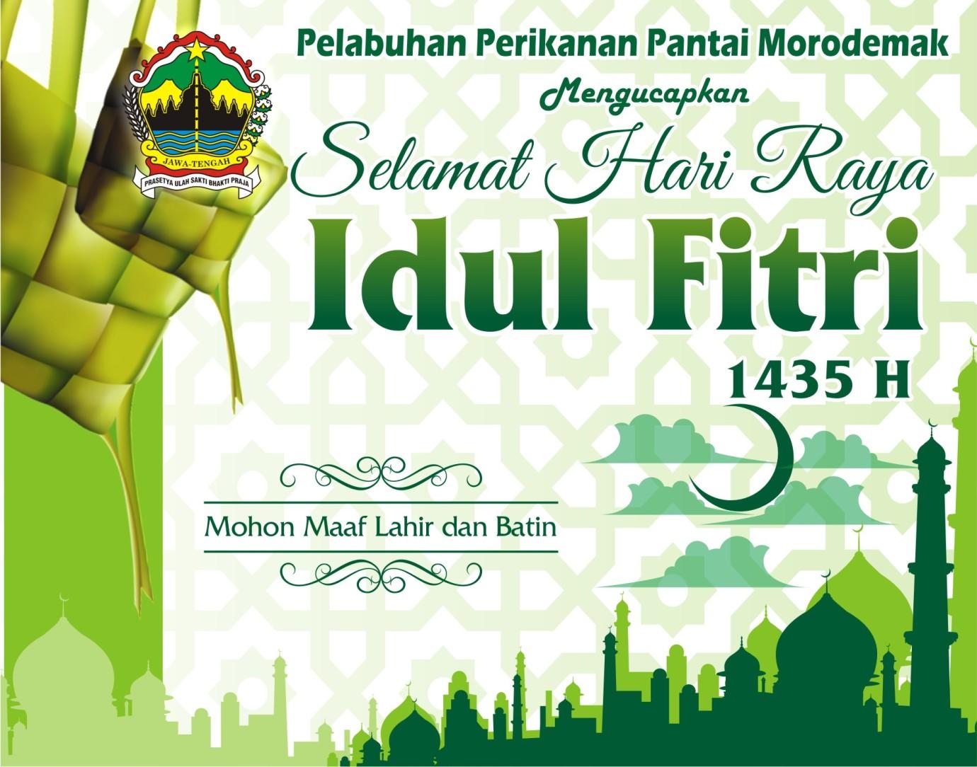 Ucapan Selamat Idul Fitri Ppp Morodemak
